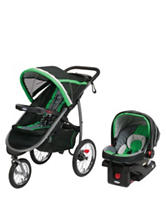Graco® FastAction™ Fold Jogger Click Connect™ Travel System – Fern