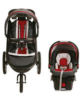 Graco® FastAction™ Fold Click Connect™ Travel System – Chili Red