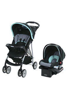 Graco Light Blue Car Seats Strollers