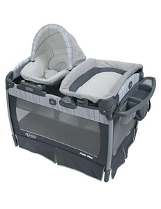 Graco Pack 'n Play Playard with Nuzzle Nest Sway Seat – Mason