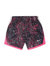 Nike® Multicolor Geometric Print Shorts - Toddler Girls