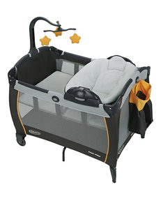 Graco Black / Orange Play Yards