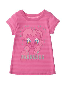 Funko Pink Fabulous Pinky Pie Top – Girls 4-6x