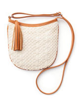 On The Verge Crochet Tassel Crossbody Bag