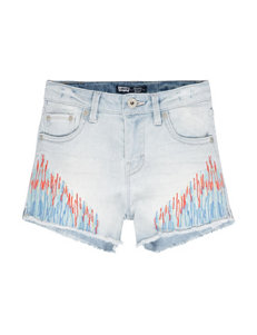 Levi's® Multicolor Embroidered Denim Shorts – Girls 7-16