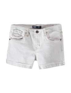 Levi's® Solid Color White Denim Shorts – Girls 7-16