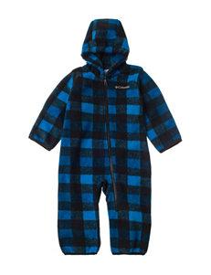 Columbia® Blue & Black Plaid Print Pram - Baby 0-12 Mos.