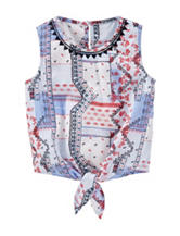 Oshkosh B'gosh® Multicolor Bandana Print Top –  Girls  5-6x