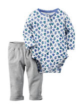 Carter's® 2-pc. Floral Bodysuit Set – Baby 0-18 Mos.