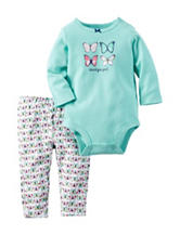 Carter's® 2-pc. Daddy's Girl Butterfly Bodysuit Set – Baby 0-18 Mos.