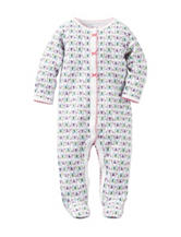 Carter's® Multicolor Butterfly Print Footed Sleep & Play – Baby 0-9 Mos.