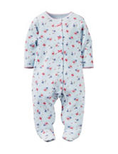 Carter's® Floral Print Footed Sleep & Play – Baby 0-9 Mos.