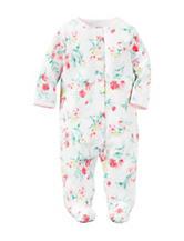 Carter's® Multicolor Floral Print Sleep & Play – Baby 0-9 Mos.