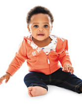 Carters® 3-pc. Property of Mommy Jacket & Jeans Set - Baby 0-18 Mos.
