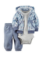 Carters® 3-pc. Aztec Print Jacket & Pants Set - Baby 0-18 Mos.
