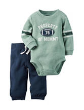 Carter's® 2-pc. Property of Mommy Bodysuit & Pants Set – Baby 0-18 Mos.