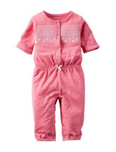 Carter's® Pink Aztec Print Jumpsuit – Baby 0-9 Mos.