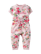 Carter's® Multicolor Floral Print Jumpsuit – Baby 0-9 Mos.