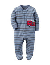 Carter's® Fire Truck Footed Sleep & Play – Baby 0-9 Mos.