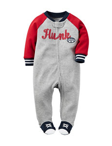 Carter's® Hunky MVP Footed Sleep & Play – Baby 0-9 Mos.