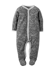 Carter's Grey Nightgowns & Sleep Shirts