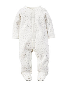 Carter's® Bear Dreams Print Footed Sleep & Play – Baby 0-9 Mos.