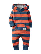 Carter's® Orange & Blue Terry Coveralls