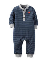 Carter's® Navy Blue & White Fox Sleep & Play – Baby 0-9 Mos.