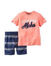 Carter's® 2-pc. Little Hunk Top & Shorts Set – Toddler Boys