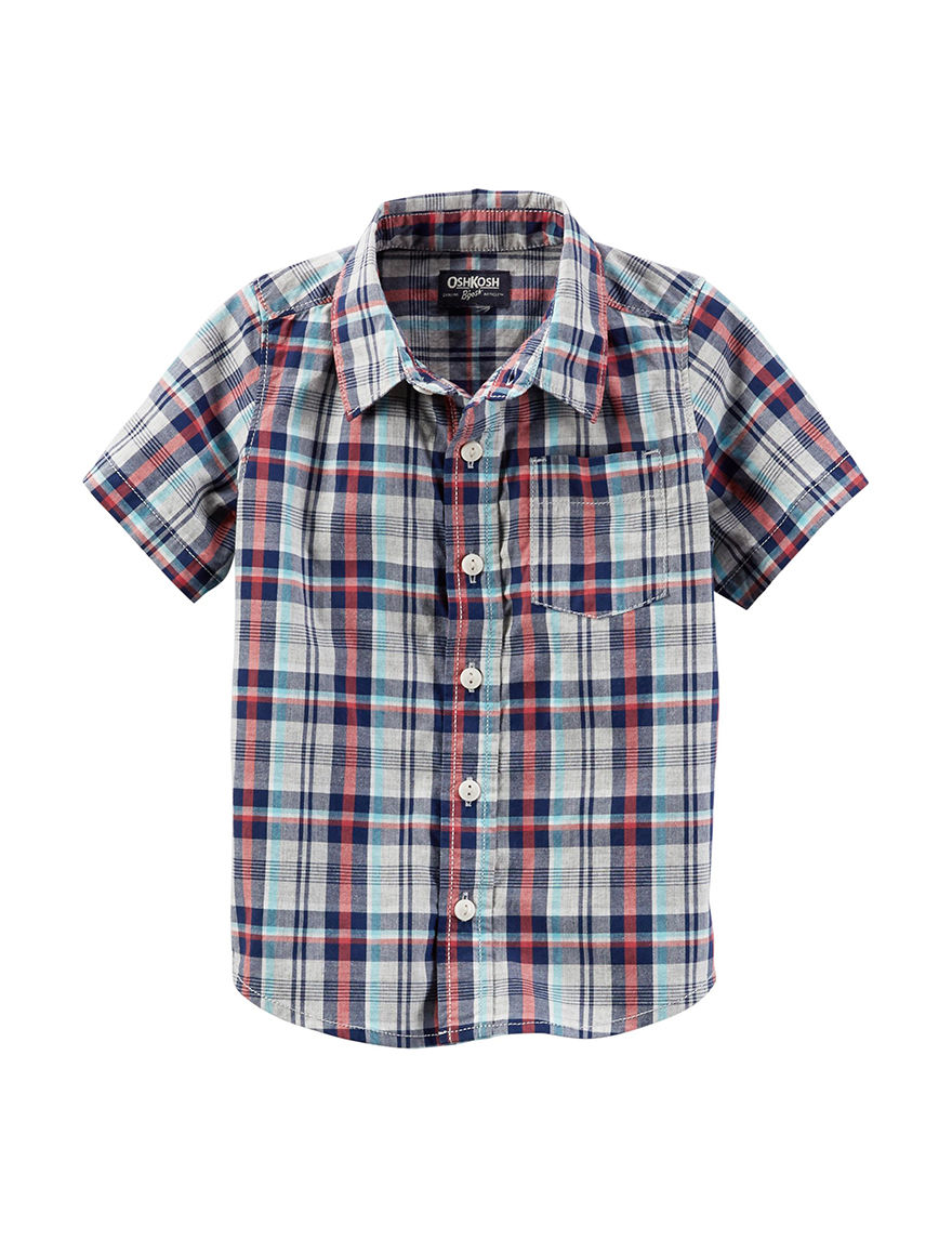 Oshkosh B'Gosh Plaid