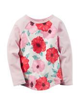 Carter's® Pink Floral Print Top – Toddler Girls