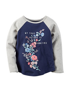 Carter's® My True Nature Raglan Top – Toddler Girls