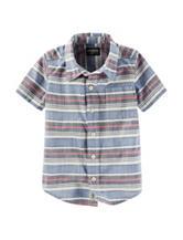 OshKosh B'gosh® Multicolor Striped Print Shirt – Toddler & Boys 5-7