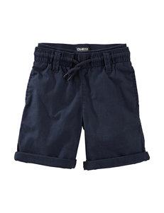 Oshkosh B'gosh® Navy Rolled Shorts – Toddler Boys