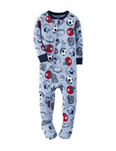 Carter's® Multicolor Sports Print Footie Sleeper – Baby 12-24 Mos.