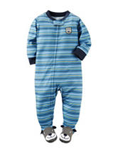 Carter's® Multicolor Striped Print Sleeper – Baby 12-24 Mos.