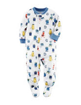 Carter's® Multicolor Monster Print Sleep & Play – Baby 12-24 Mos.