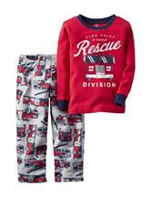 Carter's® 2-pc. Fire Rescue Pajama Set – Baby 12-24 Mos.