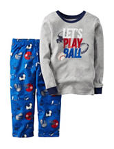 Carters® 2-pc. Lets Play Ball Pajama Set - Baby 12-24 Mos.