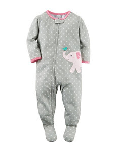 Carter's® Grey Elephant Sleeper – Baby 12-24 Mos.