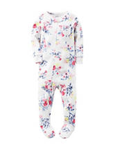 Carter's® Multicolor Floral Print Sleeper – Baby 12-24 Mos.