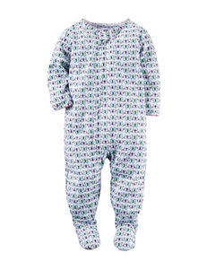 Carter's® Multicolor Butterfly Sleep & Play –Baby 12-24 Mos.