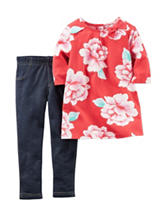 Carter's® 2-pc. Floral Top & Jegging Set – Baby 12-24 Mos.
