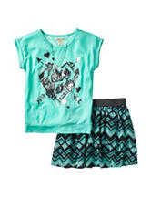 One Step Up 2-pc. Love Always Chevron Scooter Set - Girls 7-12