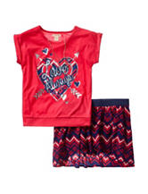 One Step Up 2-pc. Love Always Chevron Print Scooter Set – Girls 7-12