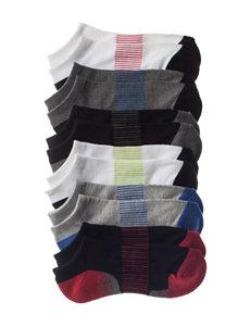 La De Da White / Grey Socks