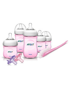 Philips Avent 13-pc. Natural Infant Starter Set - Pink