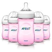Philips Avent 5-pk. Natural Baby Bottles - Pink