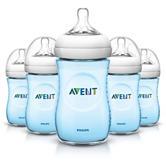 Philips Avent 5-pk. Natural Baby Bottles - Blue