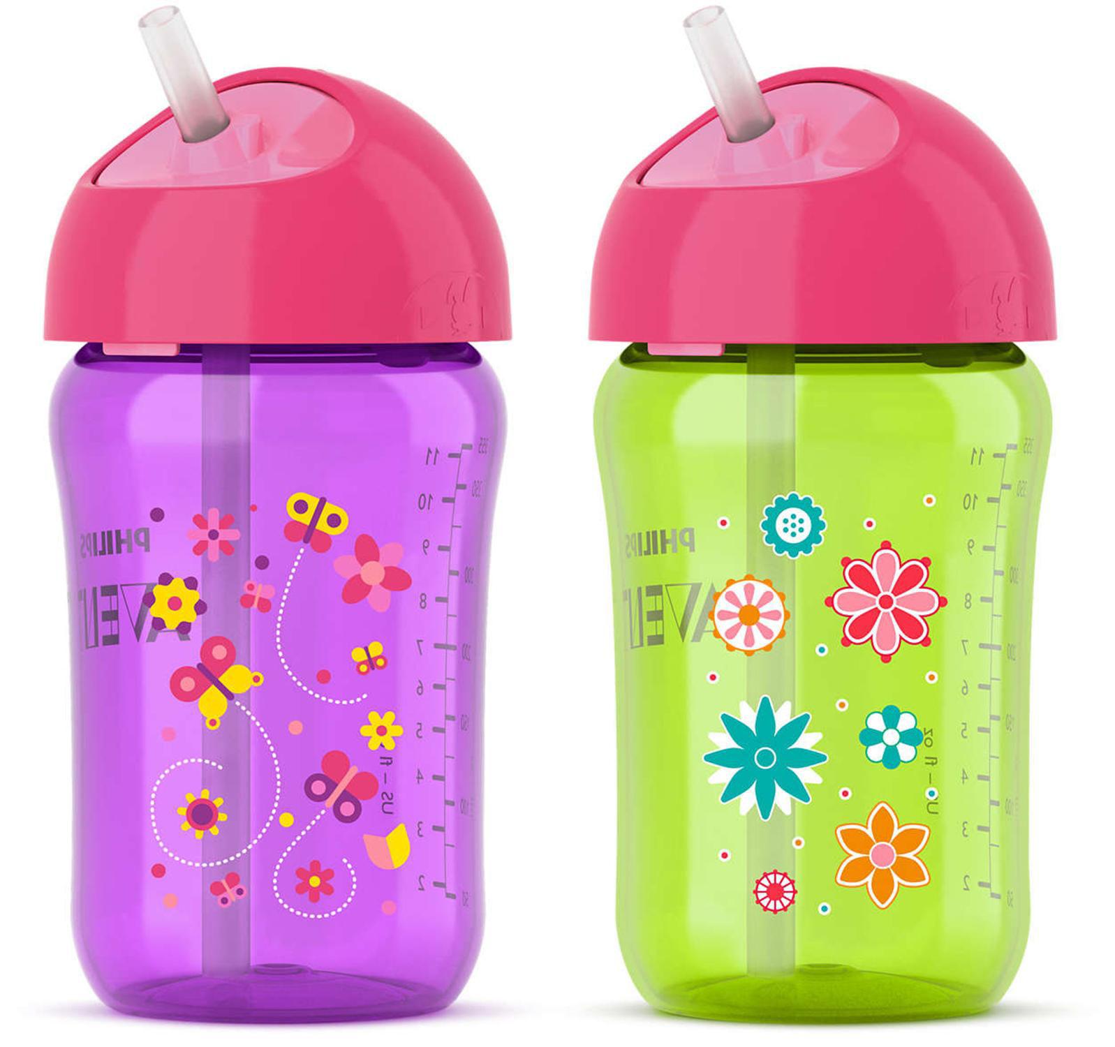 Philips Avent Pink Bottle Feeding